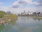 宮沢橋から郡山堰